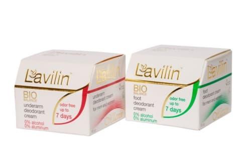 Снова в продаже крем-дезодоранты длительного действия Lavilin