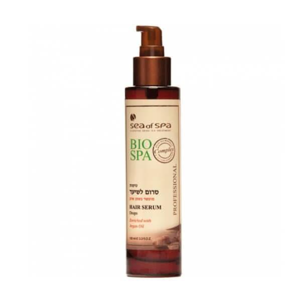Капли-сыворотка для волос с маслом аргана Bio Spa