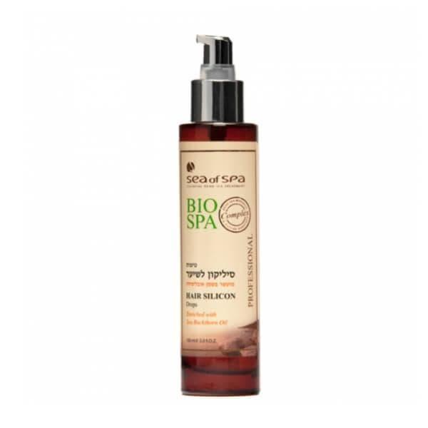 Силиконовые капли для волос с маслом облепихи Bio Spa