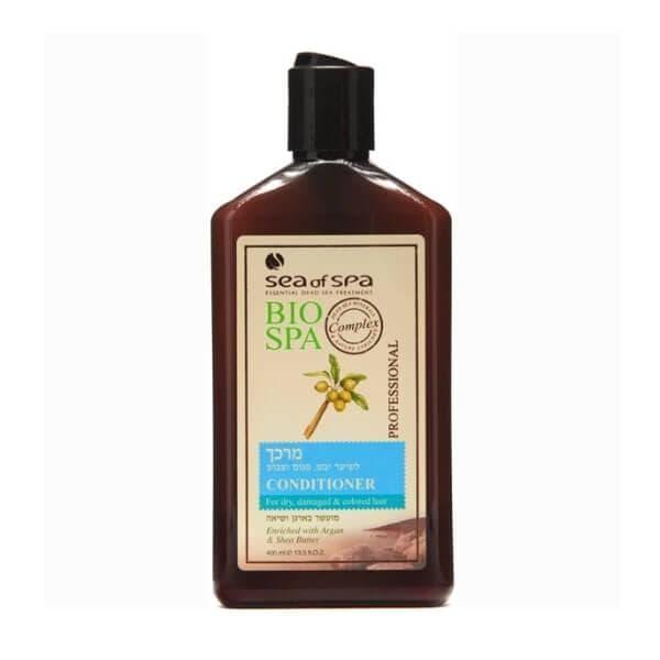 Кондиционер для сухих поврежденных и окрашенных волос с маслами аргана и ши Bio Spa