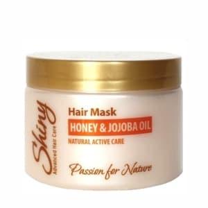 Медовая маска против выпадения волос с маслом жожоба