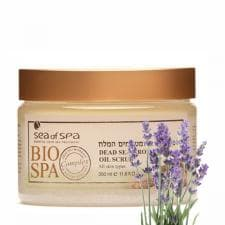 Масло-скраб для тела с ароматическими маслами Bio Spa  Лаванда