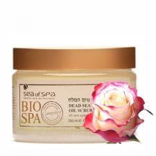Масло-скраб для тела с ароматическими маслами Bio Spa  Роза