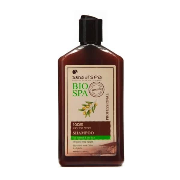 Шампунь для нормальных и сухих волос с маслами оливы и жожоба Bio Spa Sea of Spa