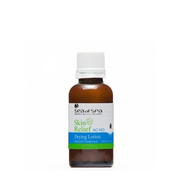 Подсушивающая бактерицидная эмульсия против угревой сыпи Skin Relief Sea of Spa