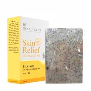 Мыло для раздраженной кожи с проявлениями псориаза и экземы Skin Relief Sea of Spa