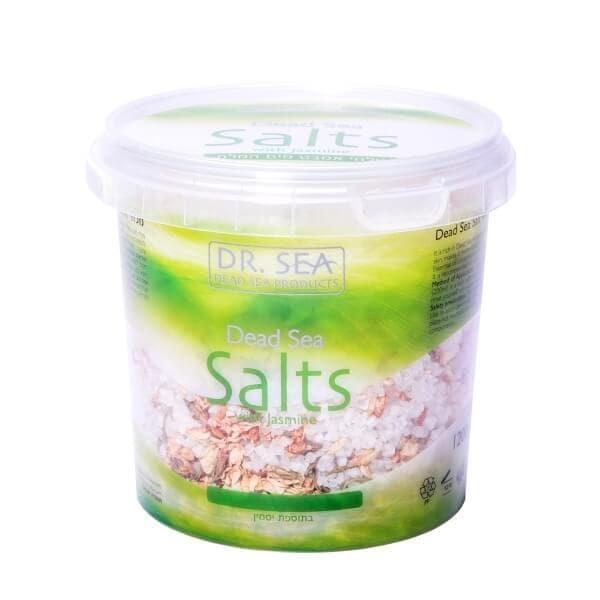 Соль Мертвого моря с жасмином в ведре 1200гр DrSea
