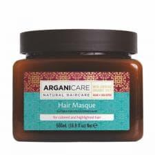 Маска для окрашенных и обесцвеченных волос с аргановым маслом