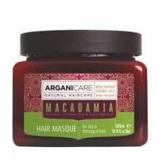 Маска для сухих и поврежденных волос с маслом макадамии