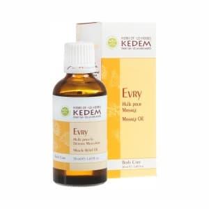 Evry Иври - массажное масло облегчающее боль при радикулите