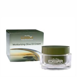 Увлажняющий оливковый крем для лица