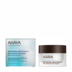Крем для век замедляющий возрастные изменения и снимающий утомление Ahava