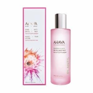 Сухое масло для тела Ahava Кактус и розовый перец