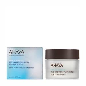 Антивозрастной дневной крем выравнивающий тон кожи SPF20 Ahava