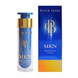 Сыворотка для лица и кожи вокруг глаз для мужчин Black Pearl