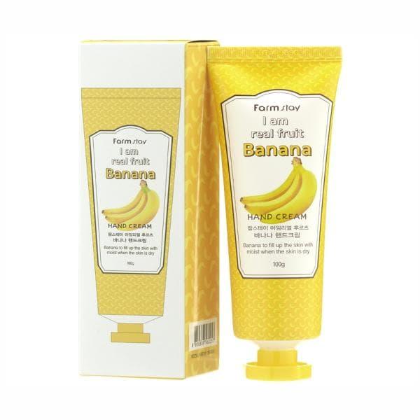 Крем для рук с экстрактом банана