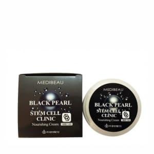 Питательный крем для лица с экстрактом черного жемчуга