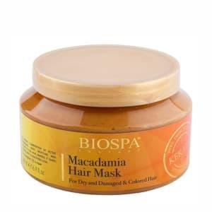 Маска для волос с кератином и маслом макадамии