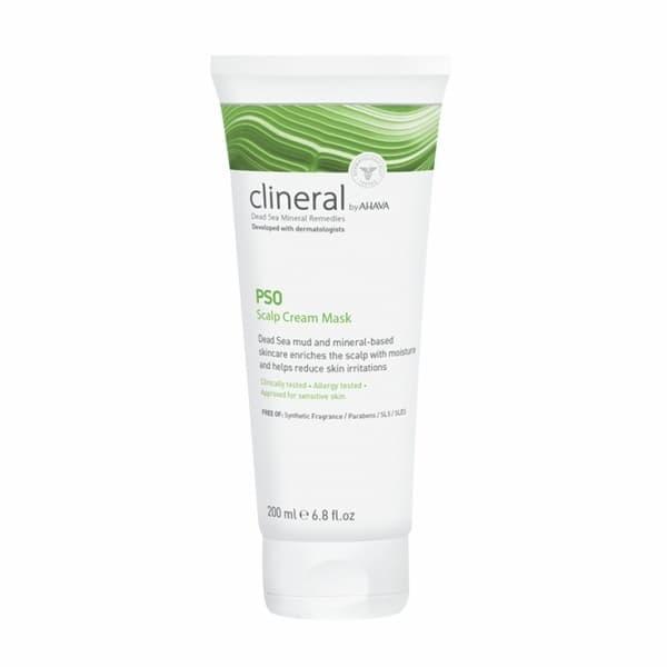 Крем-маска для кожи головы с проявлениями псориаза и сухости Clineral Pso