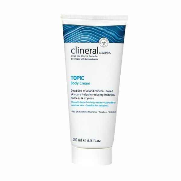 Крем для кожи тела с признаками дерматита и раздражения Clineral Topic