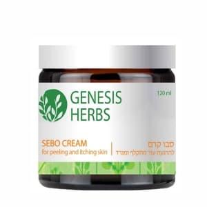 Крем для раздраженной и шелушащейся кожи Sebo Cream Genesis Herbs