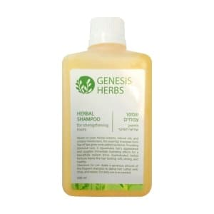 Растительный шампунь для укрепления корней волос
