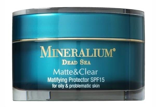 Mineralium Matifying Protector крем с матовым эффектом SPF15 для жирной кожи из линейки Matte Clear