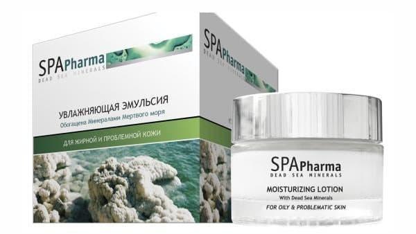 Увлажняющая эмульсия для жирной кожи SPA Pharma Moisturizing Lotion