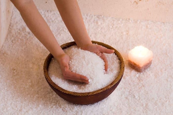 Соль Мертвого моря от целлюлита