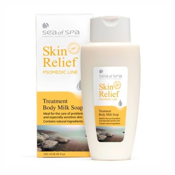 Молочко для душа для проблемной и чувствительной кожи Skin Relief от Sea of Spa