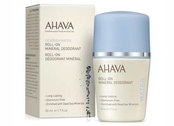 минеральный шариковый дезодорант для женщин Ahava
