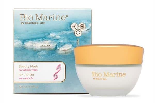 Израильская успокаивающая и увлажняющая маска Красоты Bio Marine Sea of Spa