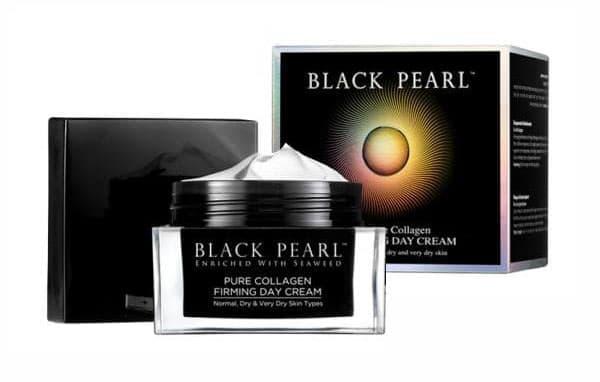 Коллагеновый омолаживающий и подтягивающий дневной крем для лица Black Pearl