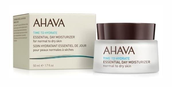 Ahava увлажняющий дневной крем для нормальной и сухой кожи Essential Day Moisturizer из линейки Time To Hydrate