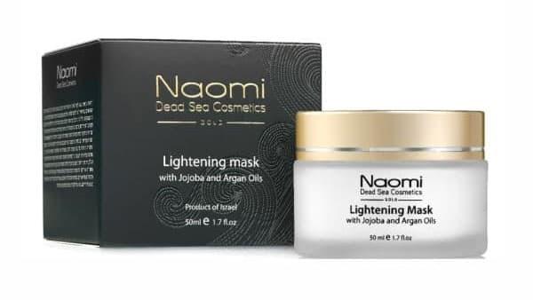 Осветляющая маска для лица с маслами жожоба и арганы Naomi Lightening Mask with Jojoba and Argan Oils (Наоми)