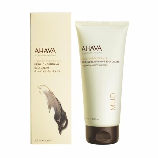 Питательный грязевой крем для тела Dermud Ahava  Dermud Nourishing Body Cream из линейки Leave-on Deadsea Mud