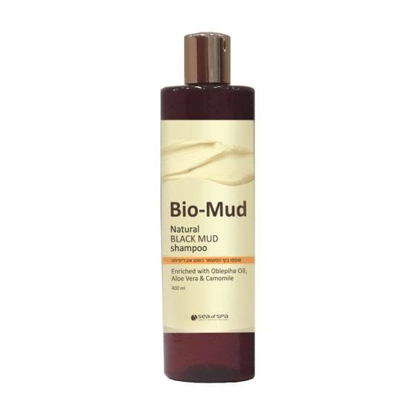 Грязевой шампунь с маслом облепихи, ромашкой Bio Mud Natural Black Mud Shampoo - Sea Of Spa (Си оф Спа)