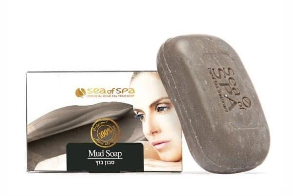 Мыло с минеральной грязью Мертвого моря Sea of Spa Mud Soap (Си оф Спа)