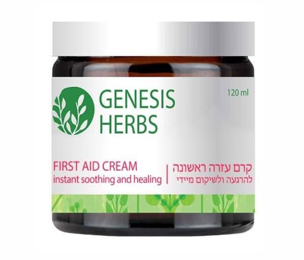 Израильский успокаивающий крем Первая помощь First Aid Cream Genesis Herbs от Sea of Spa