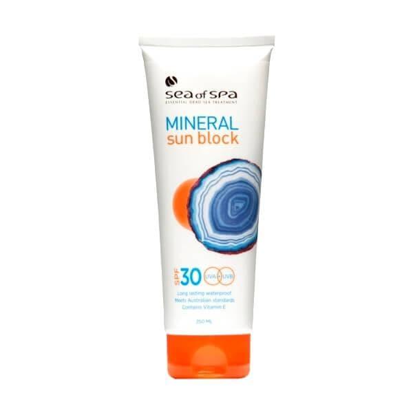 Sea Of Spa солнцезащитный крем для лица и тела SPF30 Mineral Sun Block
